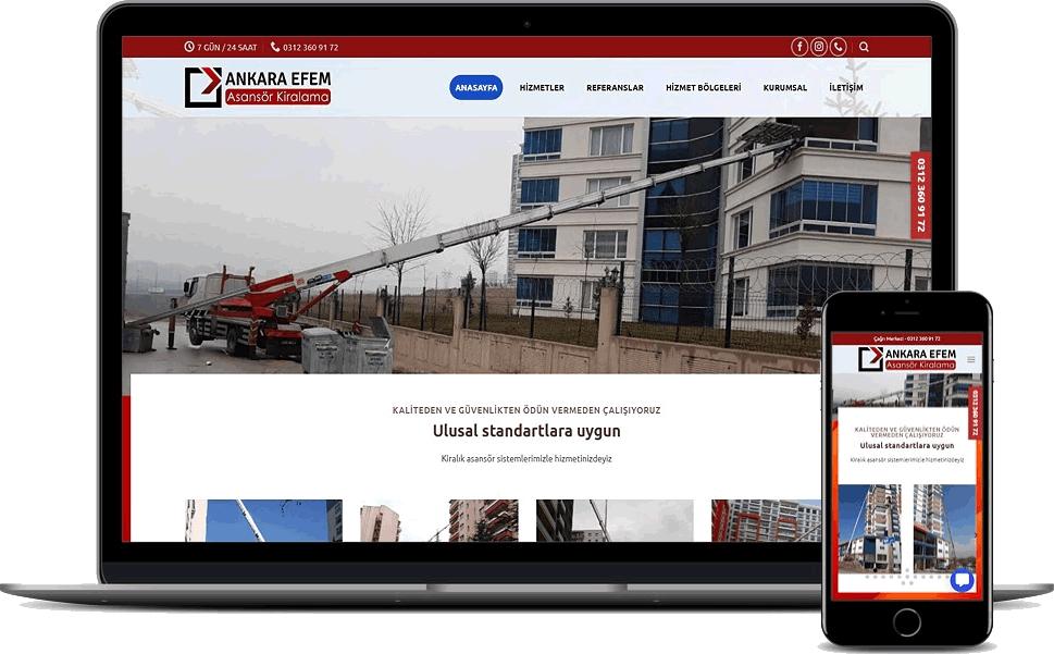 Ankara Efem Asansör Kiralama