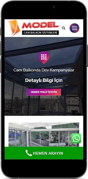 Ankara Model Cam Balkon