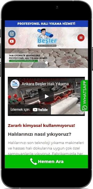 Ankara Beşler Halı Yıkama